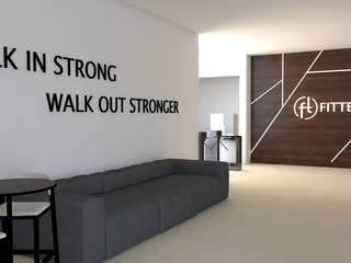 Phòng tập phong cách hiện đại bởi Ana Andrade - Design de Interiores Hiện đại