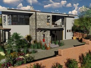 모던스타일 주택 by Architects Unbound (Pty) Ltd. 모던