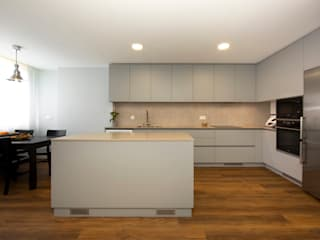 Desenho Branco Cocinas de estilo moderno