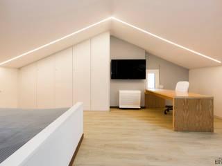 Desenho Branco Kamar Tidur Modern
