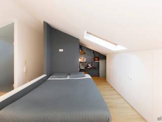 Desenho Branco Modern style bedroom