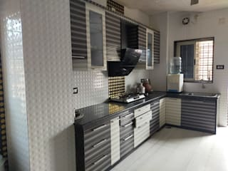 THE LINE STUDIO Cozinhas modernas Contraplacado Castanho