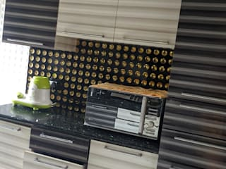 THE LINE STUDIO Armários de cozinha Contraplacado Castanho
