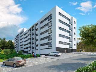 Apartamento T2 kitchenette para venda em Ermesinde, a apenas 15 minutos da cidade do Porto por Paulo Sérgio Propriedades Lda