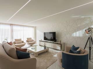 Jota Barbosa Interiors Ruang Keluarga Modern