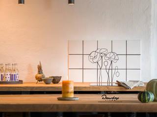 Dewdrop Tiles Walls & flooringTiles Keramik White