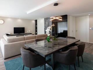Jota Barbosa Interiors Ruang Makan Modern