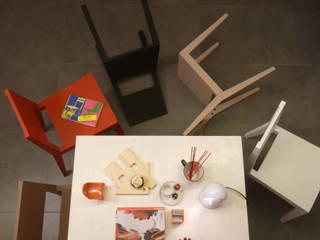 St3cchina - la sedia autoprodotta ultra leggera (3kg) Romina Sita CucinaTavoli & Sedie