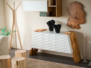 lab58 Living roomCupboards & sideboards Wood White