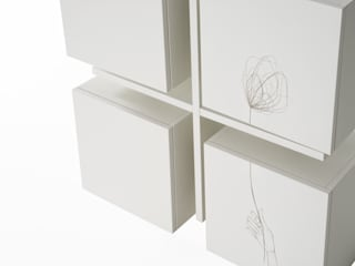 lab58 Living roomStorage White