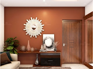 Monnaie Interiors Pvt Ltd Multimedia roomAccessories & decoration Wood Wood effect