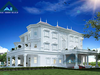 Công ty Kiến trúc Á Âu Villas Concrete White