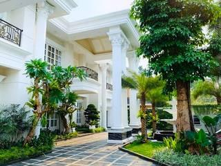 Tukang Taman Surabaya - Tianggadha-art Front yard Stone Multicolored