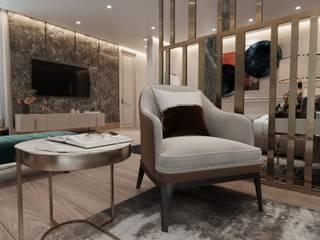 Sri Lanka Otel Projesi Modern Oturma Odası Entrada Mimarlık Modern