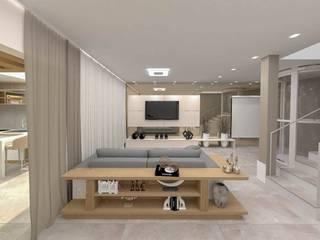 Studio Mies Arquitetura e Interiores Ruang Media Modern