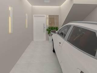 Studio Mies Arquitetura e Interiores Garasi Modern