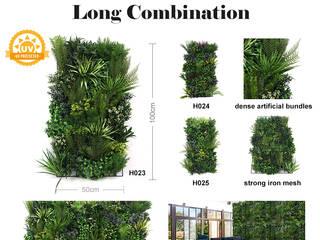 Artificial Vertical Garden for Landscaping SUNWING GREEN Interior landscaping Plastic Green