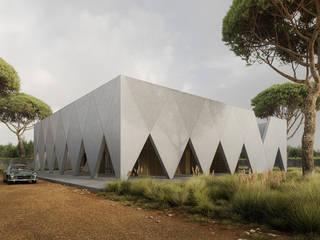 Arkady / Arcaded house od Artur Adamczyk - Wizualizacje architektoniczne