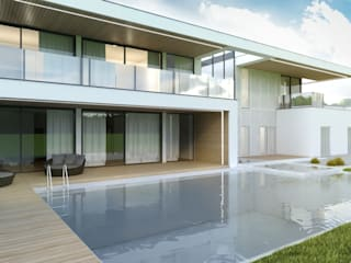 Budownictwo i Architektura Marcin Sieradzki - BIAMS Zen garden Wood Beige
