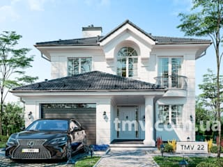 Нарядный двухэтажный особняк в классическом стиле TMV 22 от TMV Architecture company