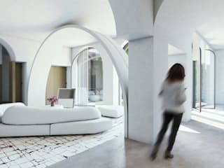 Minimalist living room by GAVINHO Architecture & Interiors Minimalist