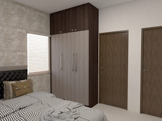 Republic of Whitefield Modern style bedroom by Magnon India Modern