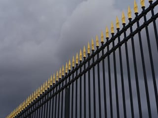 Madison Fence Pros Ruang Ganti Gaya Country