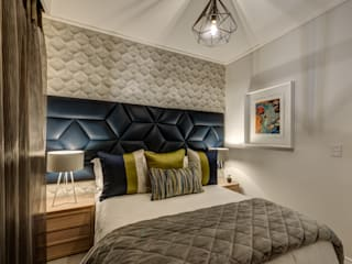 Wanda Michelle interiors Kamar Tidur Modern