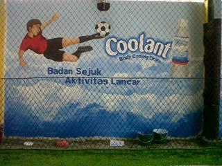 Lukis Dinding Lapangan Futsal Bintaro Raditya Design and Art