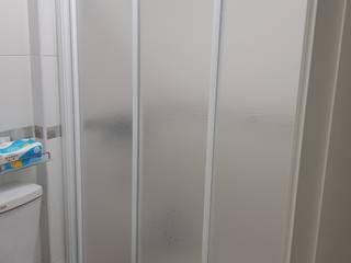 【淋浴拉門】台南市新市區社內 #202009111102 好室科技 - 隱形鐵窗 鋼鋁門窗 格柵欄杆 採光遮罩 淋浴拉門 摺紗門窗 智慧家庭 浴室