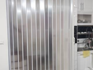 【塑膠拉門】台南市東區崇德三十街 #202005161517 好室科技 - 隱形鐵窗 鋼鋁門窗 格柵欄杆 採光遮罩 淋浴拉門 摺紗門窗 智慧家庭 樓梯