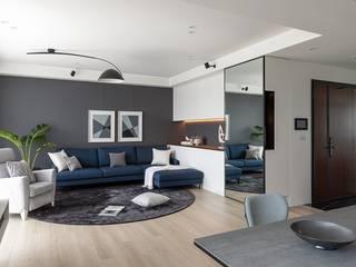 Livings de estilo moderno de 存果空間設計有限公司 Moderno