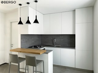 Bergo Arredi Dapur built in Kayu White