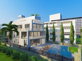 Construcción casa en Ibiza de Paisajismo y Mantenimiento Hibiscus Mediterráneo