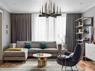 Salas de estar clássicas por VVDesign Clássico