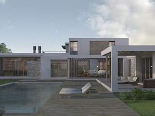 Case moderne di Azcona Vega Arquitectos Moderno