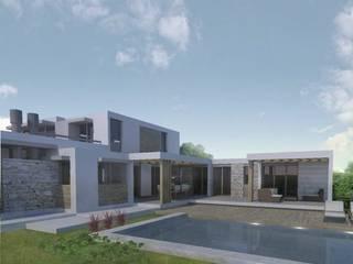 Casas modernas por Azcona Vega Arquitectos Moderno