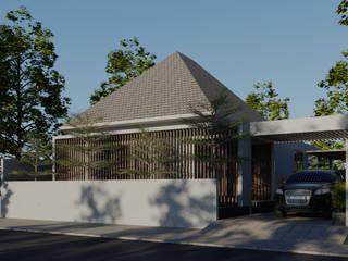 WAN HOUSE DiArsitekin Rumah tinggal Kayu Wood effect