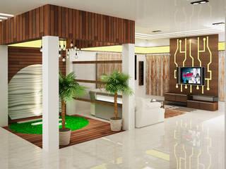 Modern corridor, hallway & stairs by I Nova Infra Modern