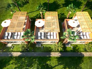 Cabañas Tubara. de KREATE Arquitectura