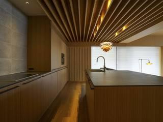 豊中の家 和風の キッチン の NOMA/桑原淳司建築設計事務所 和風