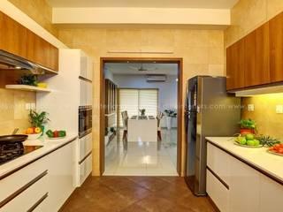 Parallel Kitchen DLIFE Home Interiors Kitchen units