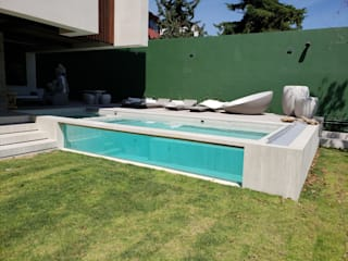 INGENIERIA Y DISEÑO EN CRISTAL, S.A. DE C.V. Garden Pool Glass Transparent