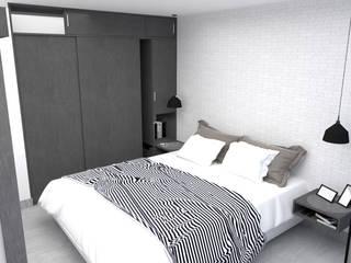 Diseño Apartamento piso 12 Madelena de PyH Diseño y Construcción Moderno