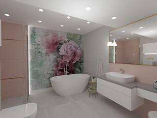 MGArchitekci.pl | Małgorzata Mierzwińska Asian style bathroom