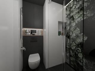 MGArchitekci.pl | Małgorzata Mierzwińska Tropical style bathrooms