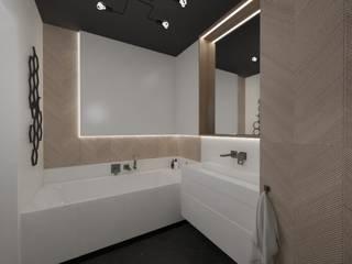 MGArchitekci.pl | Małgorzata Mierzwińska Eclectic style bathroom