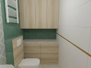 MGArchitekci.pl | Małgorzata Mierzwińska Modern bathroom