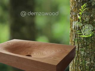 piezas naturales de DEMZA Moderno