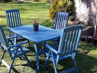 Mobili a Colori Balconies, verandas & terracesFurniture Wood Multicolored